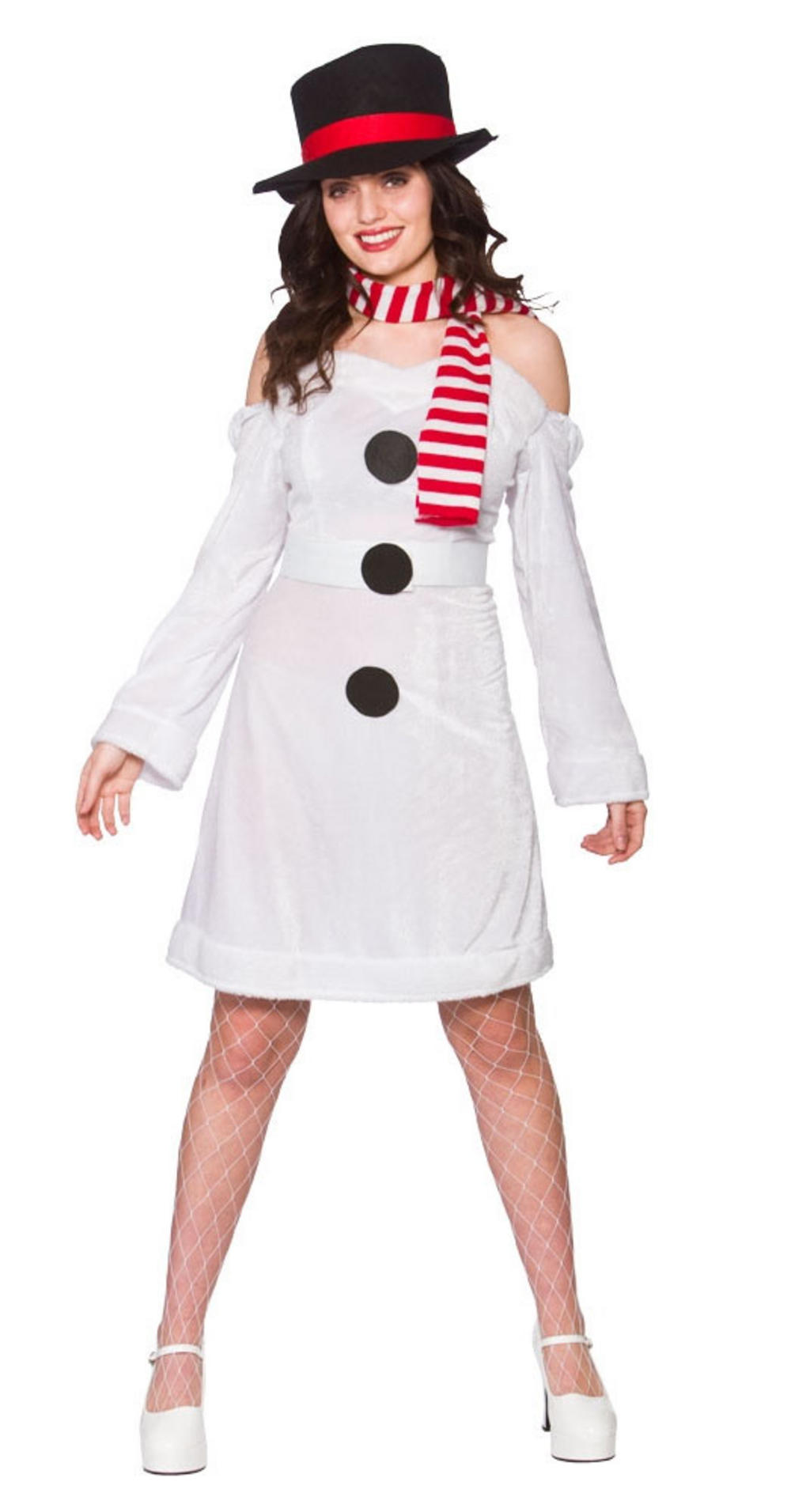 Sweet Snowman Ladies Costume