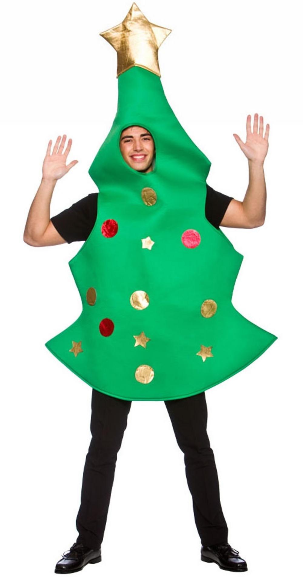 Christmas Tree Costume.Christmas Tree Adults Costume