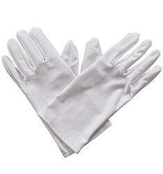 Gents White Gloves