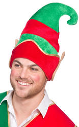 Deluxe Elf Hat with Ears Costume Accessory