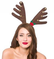 Deluxe Reindeer Antlers Costume Accessory