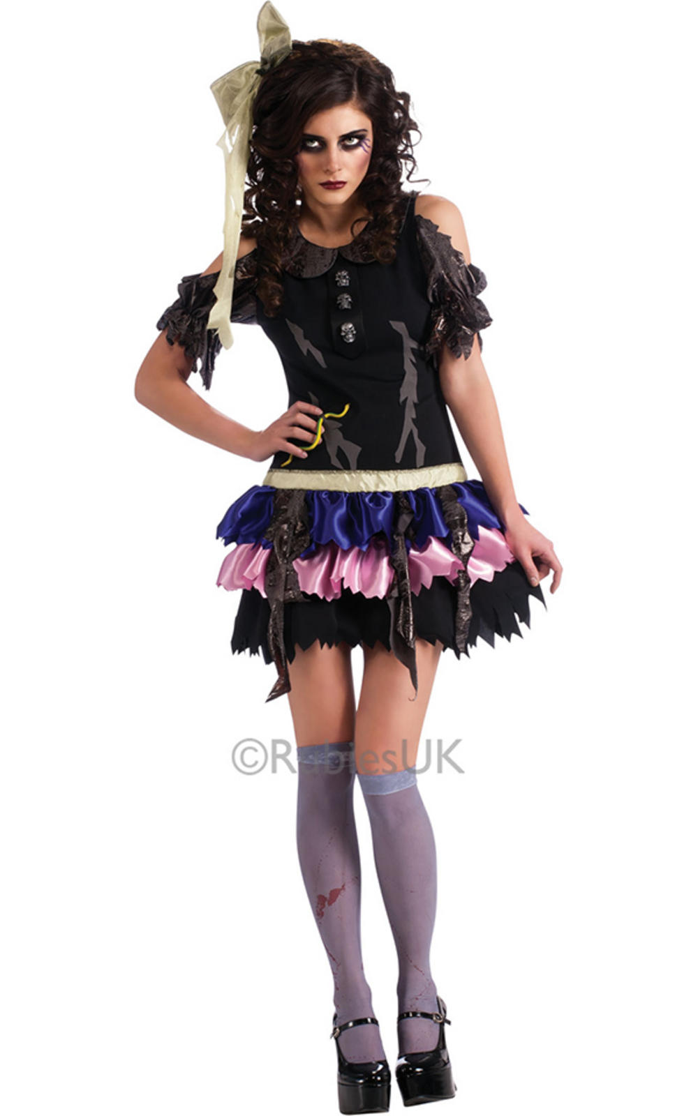 Zombie Doll Ladies Costume