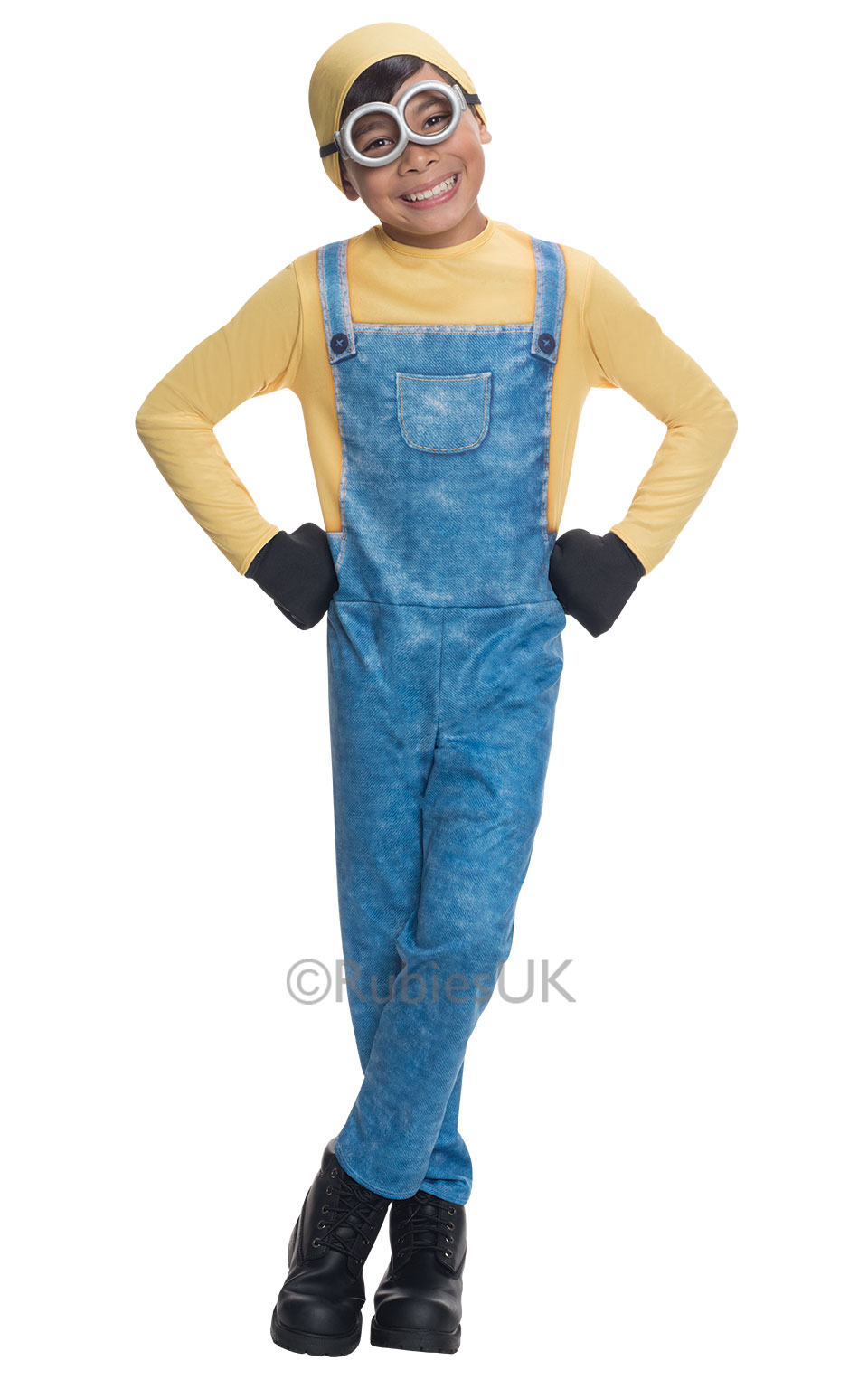 Minion Halloween Costumes For Girls.Details About Minion Girls Boys Fancy Dress Despicable Me Kids Childrens Halloween Costumes