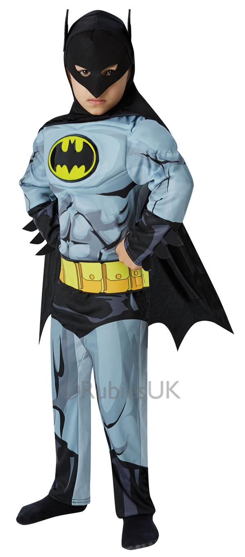 Deluxe Comic Book Batman Boys Costume  sc 1 st  Mega Fancy Dress & Deluxe Comic Book Batman Boys Costume | Kids Halloween Costumes ...
