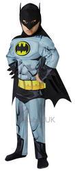 Deluxe Comic Book Batman Boys Costume