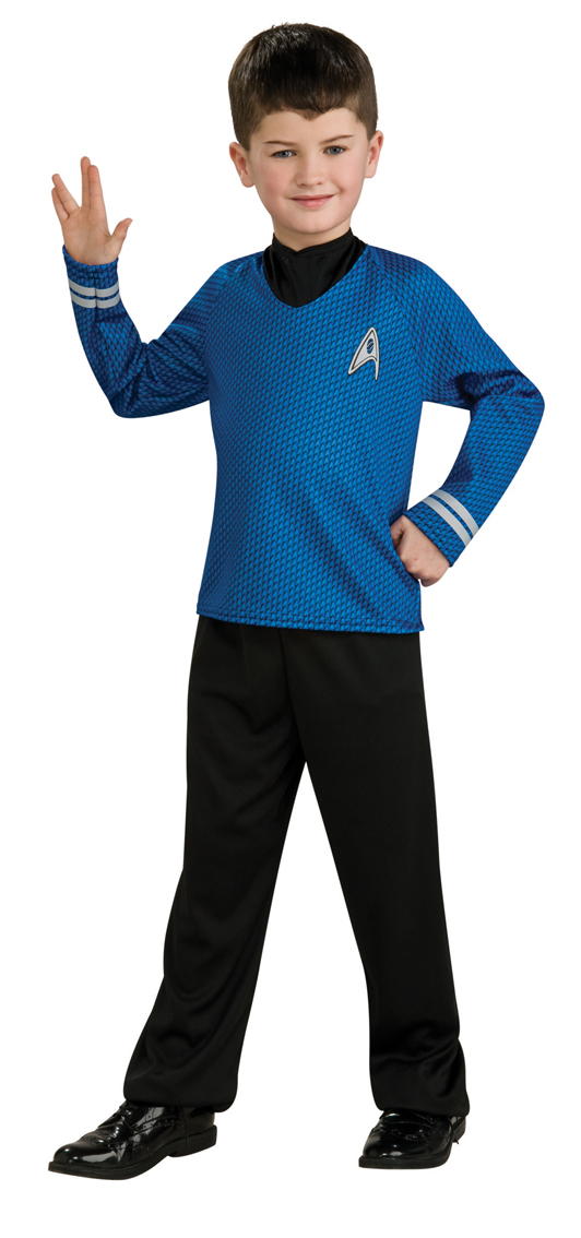 Boysu0027 Star Trek Spock Costume  sc 1 st  Mega Fancy Dress & Boysu0027 Star Trek Spock Costume | TV Book and Film Costumes | Mega ...