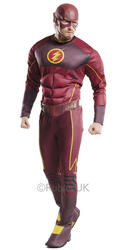 The Flash Mens Deluxe Costume