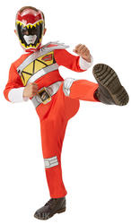 Red Power Ranger Dino Charge Costume