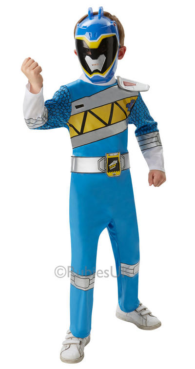 Deluxe Blue Power Ranger Dino Charge Costume
