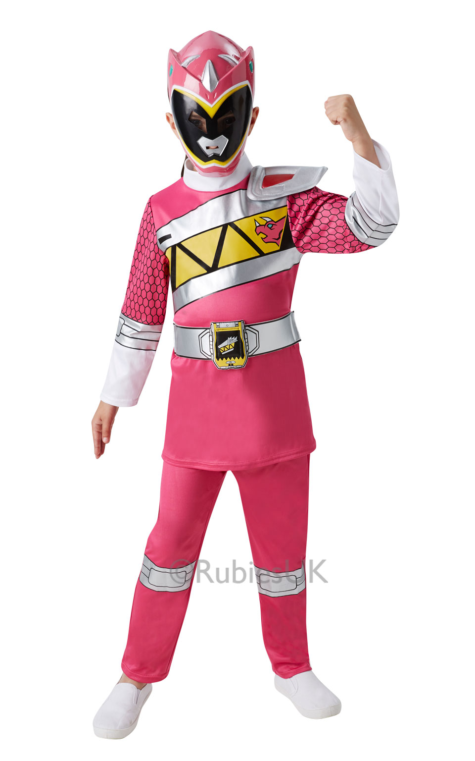 Deluxe Pink Power Ranger Dino Charge Costume  sc 1 st  Mega Fancy Dress & Deluxe Pink Power Ranger Dino Charge Costume | TV Book and Film ...