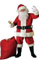 Deluxe Velvet Santa Suit Costume