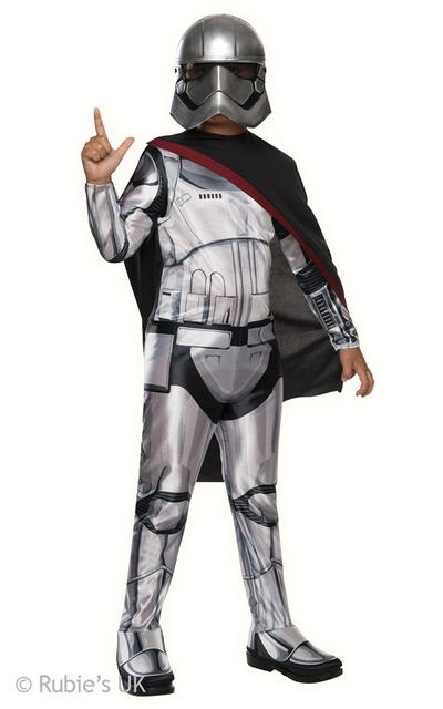 Captain Phasma Kids The Force Awakens Star Wars Costume
