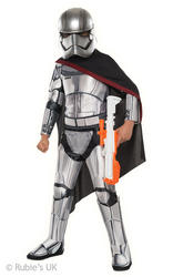 Deluxe Captain Phasma Kids The Force Awakens Star Wars Costume