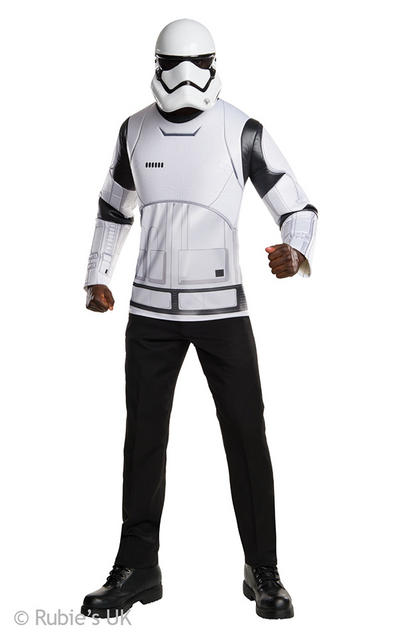 Stormtrooper Mens The Force Awakens Star Wars Shirt and Mask