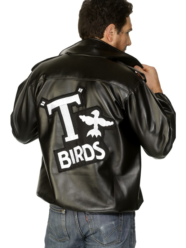 T birds leather jacket