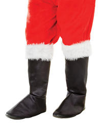 Deluxe Santa Boot Tops Accessory