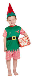 Toddler Elf Boys Costume