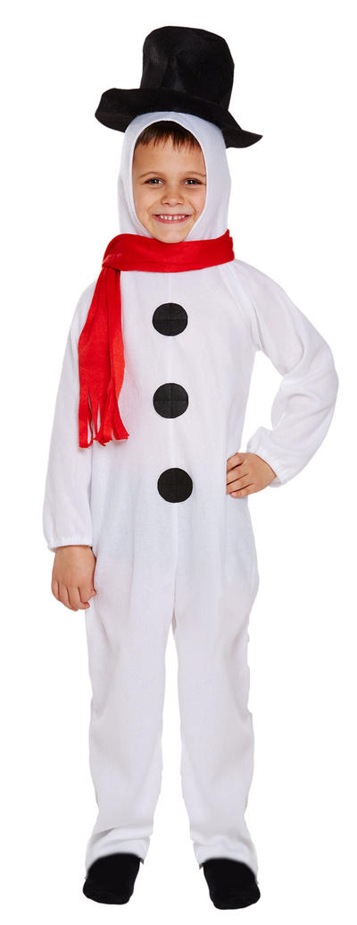 Snowman Costumes Snowman costumes symbolize the winter season without pin-pointing a specific religious affiliation making them perfect for use all winter long by all sorts of organizations. From December to February you can wear them for what even purpose you like.
