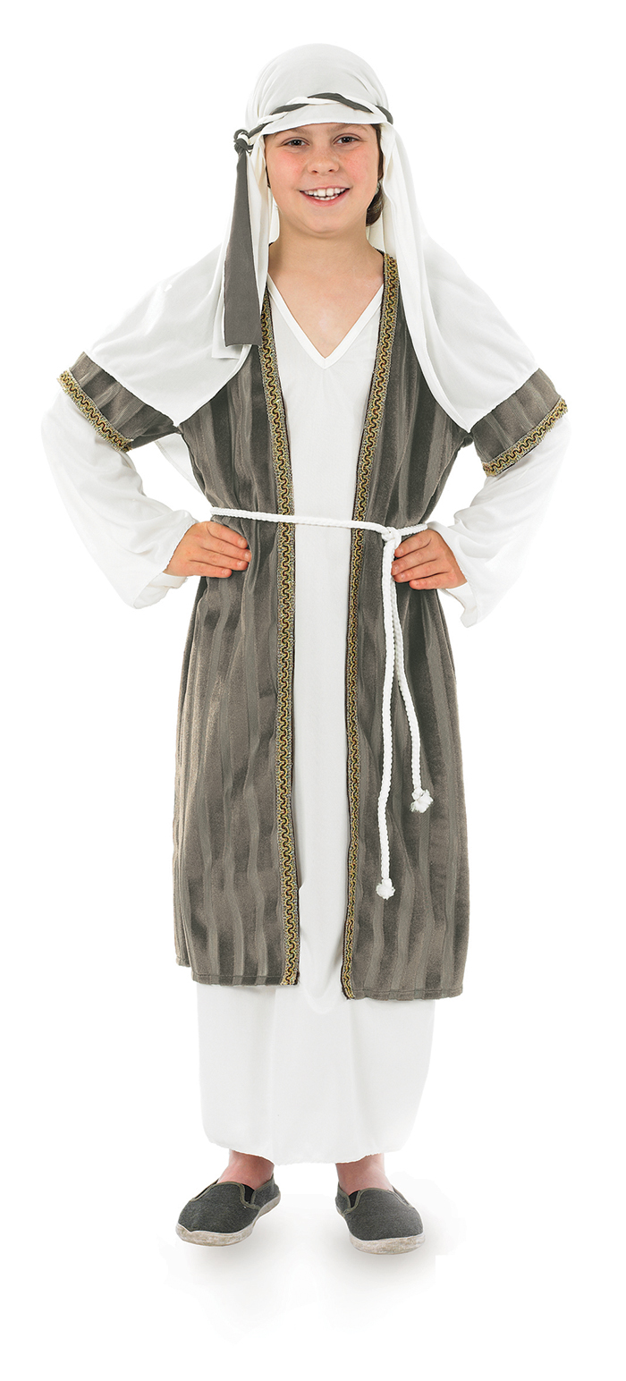 White and Grey Shepherd Boys Costume | Kids Christmas Costumes ...