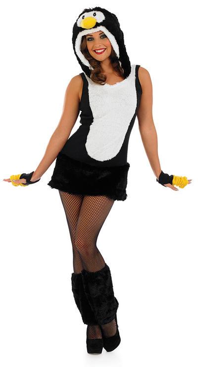 Sexy Penguin Ladies Costume