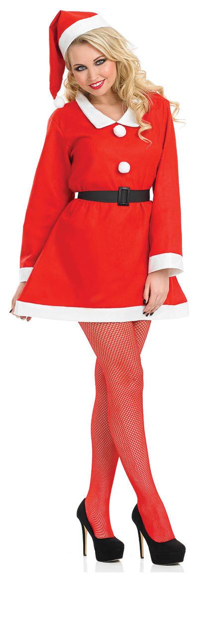 Santa Sweetie Ladies Costume