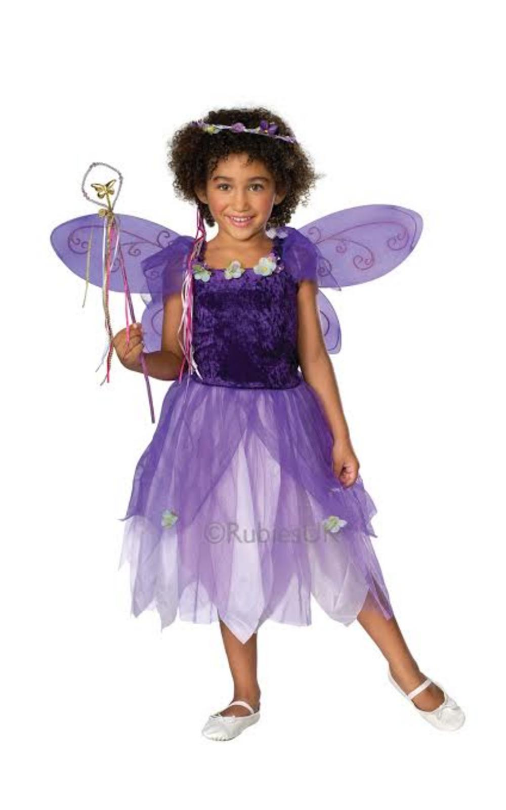 Girls Plum Pixie Costume