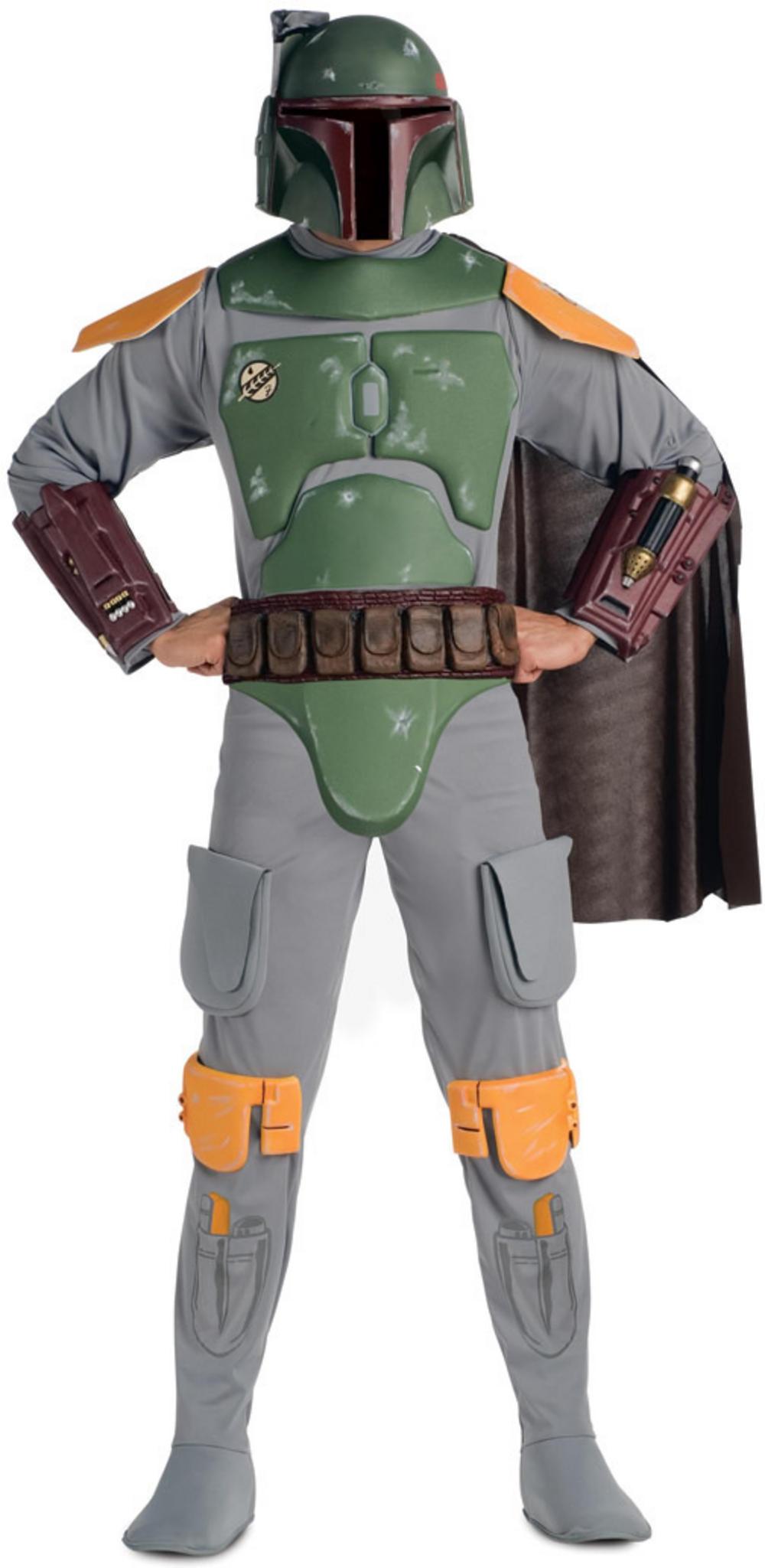 Star Wars Deluxe Boba Fett Costume