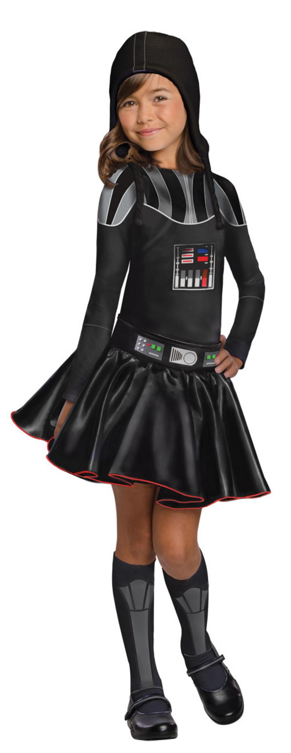 Darth Vader Girls Star Wars Costume
