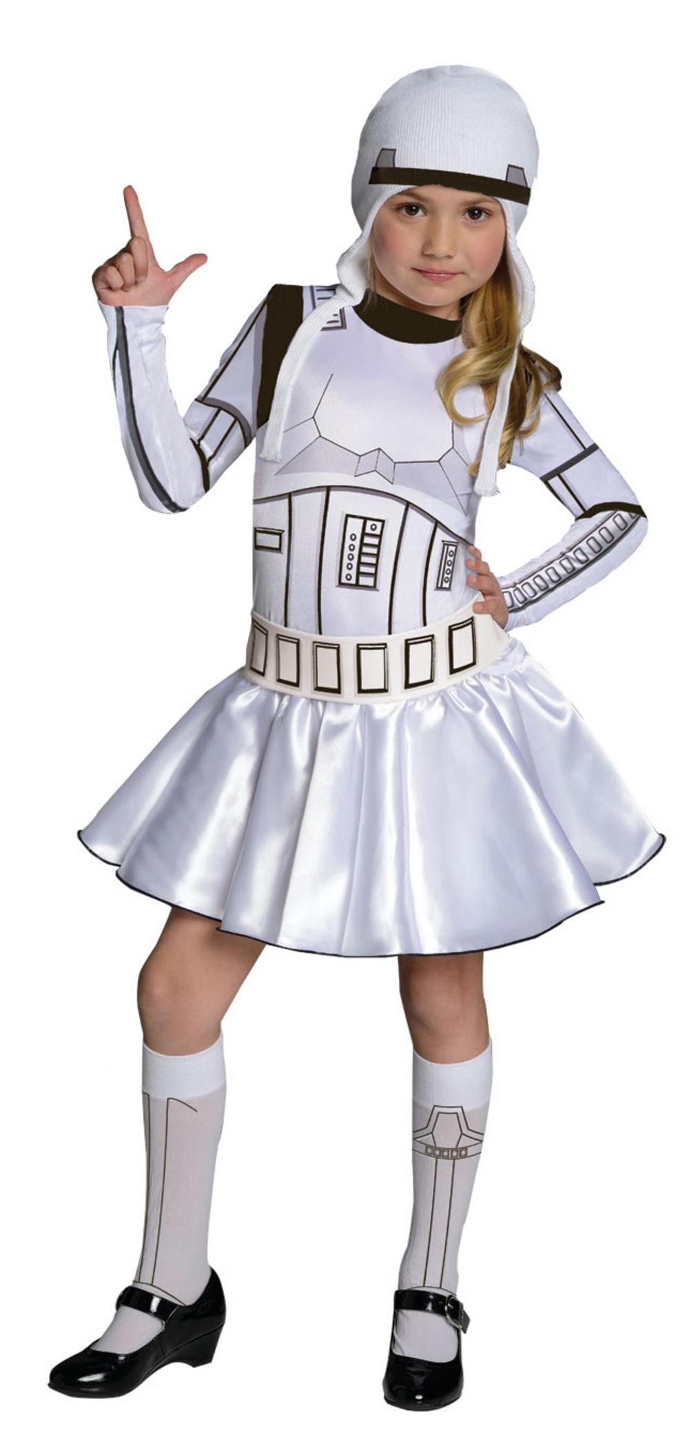 Stormtrooper Girls Star Wars Costume