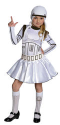 Stormtrooper Girls Star Wars Costume