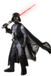 Super Deluxe Darth Vader Star Wars Kids Costume