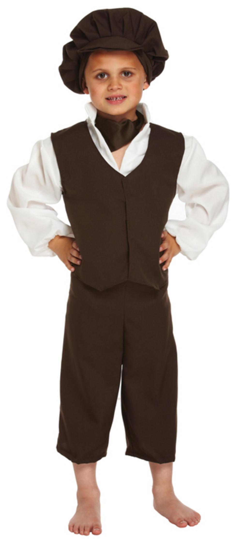 Boys Victorian Boy Fancy Dress Costume