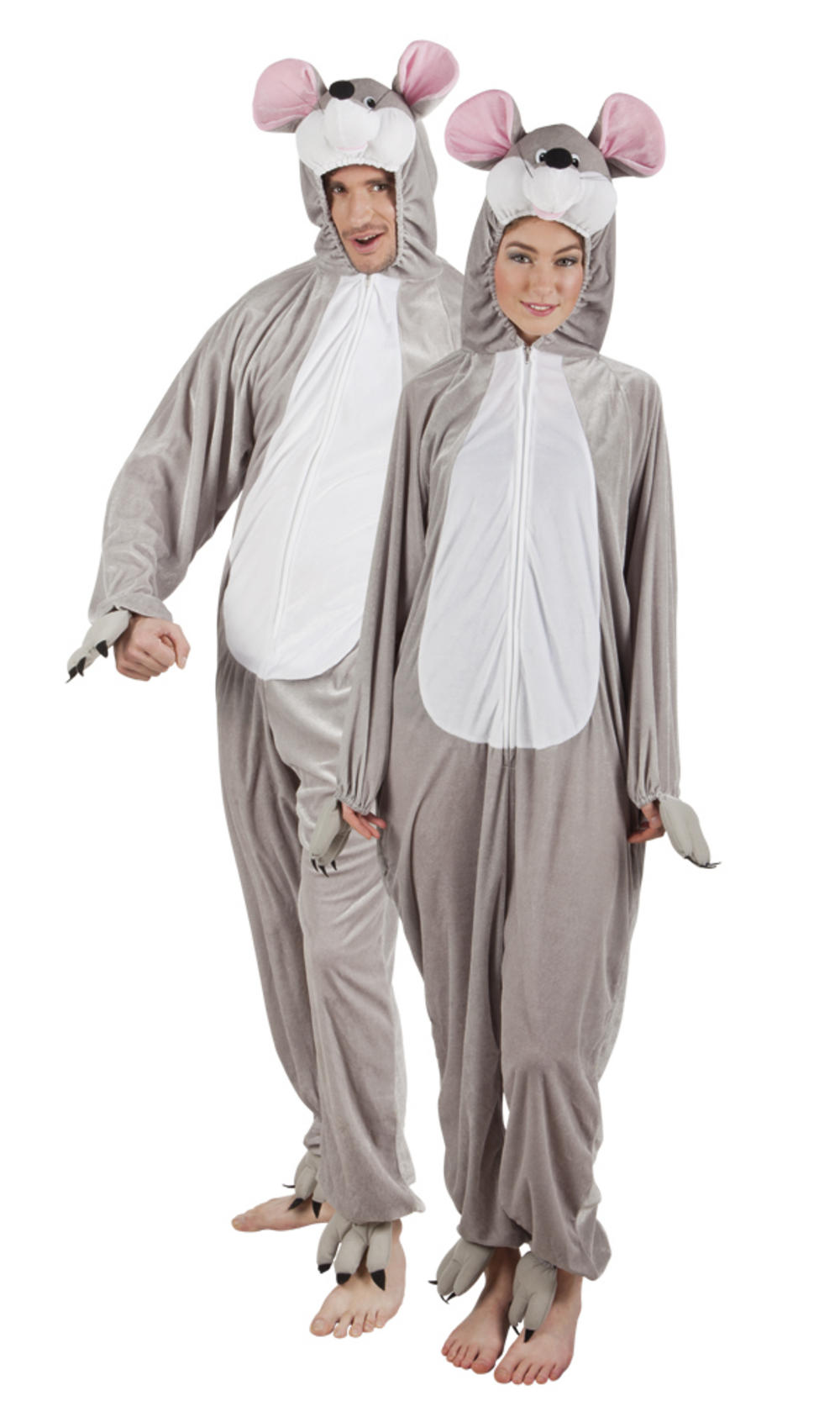 Plush Mouse Adults Costume