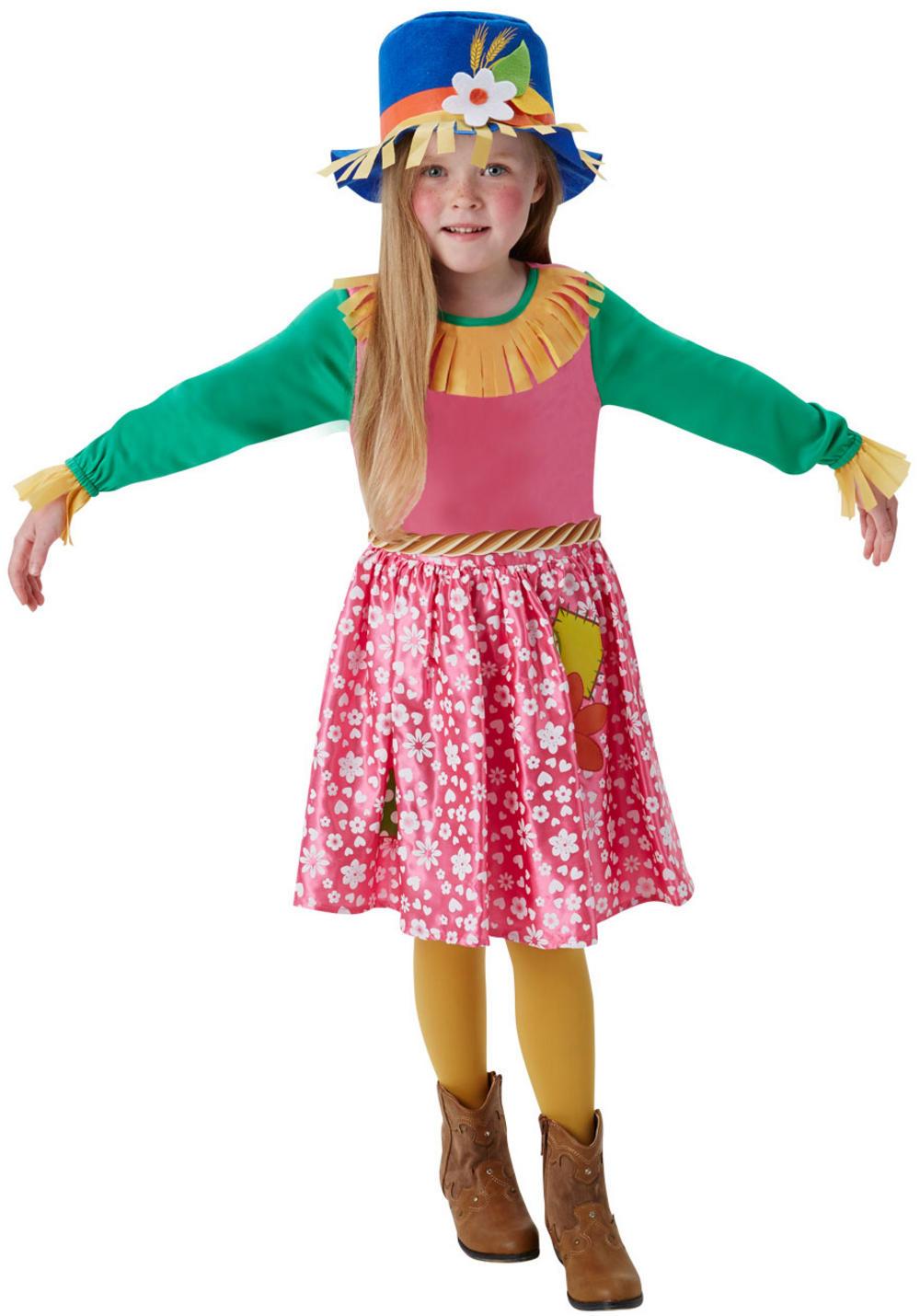 Mrs Scarecrow Girls Costume | Girl's World Book Day Fancy Dress ...