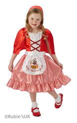 Red Riding Hood Girls Fancy Dress
