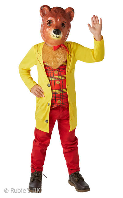 Mr Bear Boys Costume