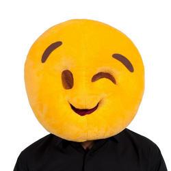 Wink Emoji Face Mask