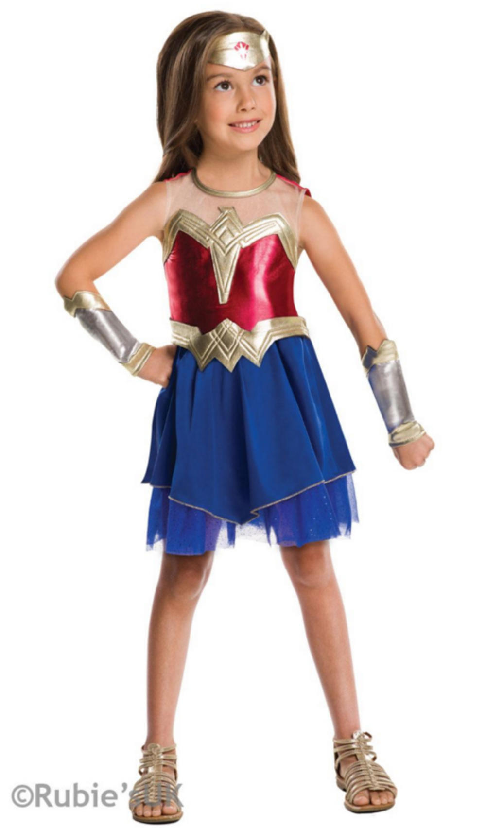 Wonder Woman Dawn Of Justice Girls Costume  Tv, Book And -7269