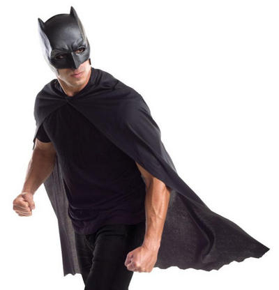 Batman Dawn of Justice Adults Cape with Mask