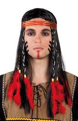 Indian Shaman Mens Wig