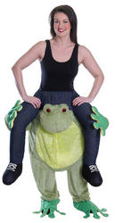 Piggy Back Frog Costume