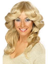 Blonde Flick Wig