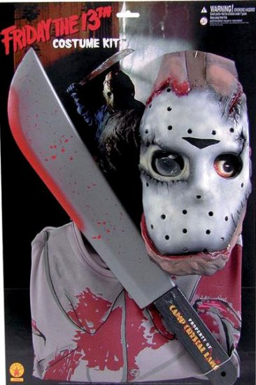 sentinel jason voorhees fancy dress halloween friday 13th menu0027s adult costume outfit new