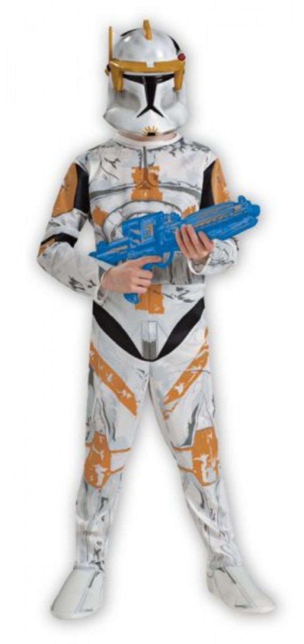 Boys Star Wars Clone Trooper Commander Cody Costume