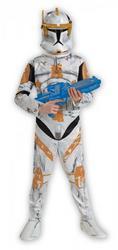 Boys Star Wars Clone Trooper Commander Cody Costume