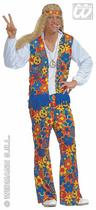Men's Hippie Man Fancy Dress Costume