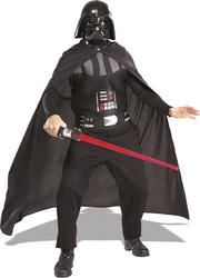 Star Wars Darth Vader Costume with Light Saber