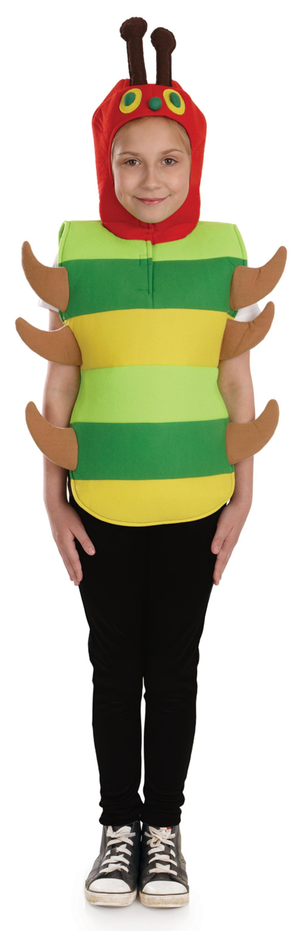 how to make caterpillar fancy dress