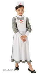 Girls WW1 Nurse Costume