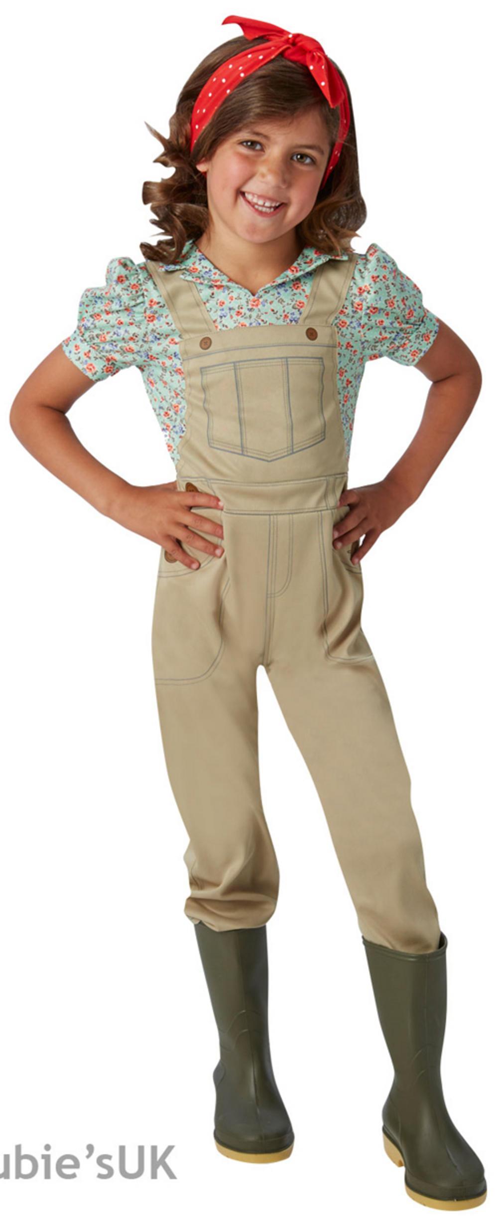 WW2 Land Girl Fancy Dress